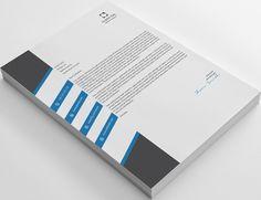 Check out Modern A1 Business Letterhead by shujaktk on Creative Market