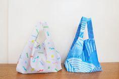 コンビニ用マイバッグ(エコバッグ)の作り方(標準型・弁当型)   nunocoto fabric Handicraft, Design Projects, Diy And Crafts, Tote Bag, Fabric, Handmade, Bags, Ideas, The Creation
