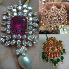 Latest Collection of best Indian Jewellery Designs. Antique Jewellery, Jewellery Designs, Gold Jewellery, Jewelery, Gold Designs, India Jewelry, Lockets, Pendant Set, Ornament Wreath