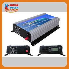 221.00$  Watch now - http://aliguf.worldwells.pw/go.php?t=32297734381 - DECEN@ 22-60v 1000W Solar Pure Sine Wave Grid Tie Inverter,Output 190-260VAC,50Hz/60Hz, For Alternative Energy 221.00$