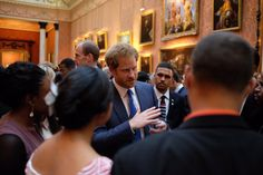 """The Royal Family on Twitter: """"The Queen, Prince Harry, Princess Eugenie and The Duchess of Gloucester join the #QueensYoungLeaders' celebrations"""