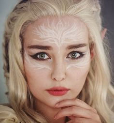 elvish make up <3                                                                                                                                                     More