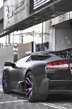 themanliness: Matte Black Purple | Source |...