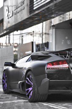 Lamborghini Murcielago SV matte black (fake SV according to photographer, not a LP670)