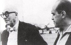 Le Corbusier and Oscar Niemeyer