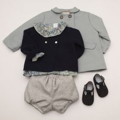 Look: Baby Girl - Navy Bloom Pepa & Co