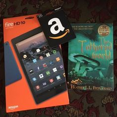 WIN a Kindle FIRE HD, $25 Amazon Card, and an Autographed Book!