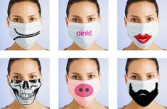 Fashion Surgical Masks - Fighting Swine Flu with the Power of Design. With all the paranoia about swine flu i think there's an opportunity to do something cool - design fashion surgical masks! Not…