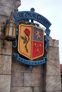 Dining at the Be Our Guest Restaurant at Walt Disney World   Eeek this makes me even more excited to go there this winter