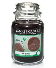 Yearning for your annual dose of Thin Mints, but trying to stick to your New Year's clean eating resolution? Fear not. Yankee Candle (the most old school scented candle?) is giving you the best of both worlds with Girl Scout cookie-themed candles. …