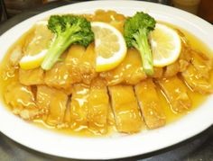 dishes with lemon designs - Yahoo Image Search Results Lemon Recipes, Healthy Recipes, Yum Yum Chicken, Lemon Chicken, Different Recipes, Turkey Recipes, Quick Easy Meals, Good Food, Food And Drink