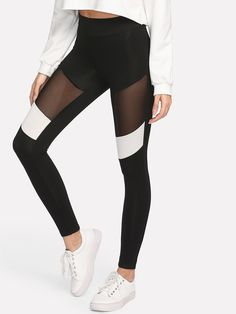 89930ac8f6024 14 Best Sheer & leggings images | Casual outfits, Woman fashion ...