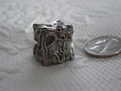 Dragon 6 Sided Pewter Metal Dice