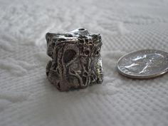 Dragon 6 Sided Pewter Metal Dice