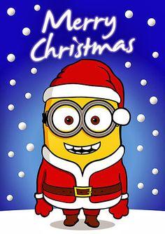 Minions especial Navidad para Imprimir Gratis. | Ideas y material gratis para fiestas y celebraciones Oh My Fiesta!