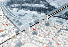 Studio O9 : Une ville poreuse. Les Italiens Bernardo Secchi et Paola Vigano ont dessiné la topologie d'une ville «poreuse» qui donne de «l'espace à l'eau» et qui multiplie «les échanges biologiques». Leur ville se transforme par stratification et doit adapter ses tissus au défi énergétique.