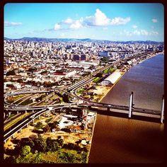 Porto Alegre en Rio Grande do Sul. Desde que escuché Luna sobre Porto Alegre, de Kevin Johansen quiero escaparme pa' allá :- )