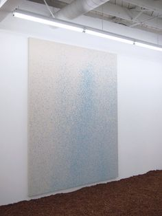 Lucien Smith at OHWOW Gallery - Seven Rain Paintings