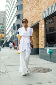 Best New York Fashion Week Street Style Spring 2017 - NYFW Street Style