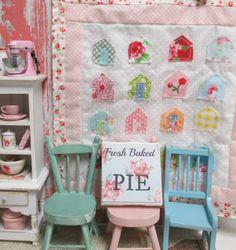 Miniature Canvas Sign-Dollhouse Scale by RibbonwoodCottage on Etsy