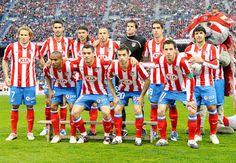 Equipos de fútbol: ATLÉTICO DE MADRID contra Barcelona 01/03/2009
