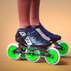 Have you seen our 2017 ICON skate?  #powerslideracing // #welovetoskate // #inlineskating // #icon // #triskates // #one20five