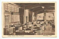 Lobby Grand Hotel Preanger Bandoeng 1933