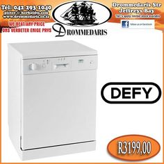 Enhance your lifestyle with our range Defy Dishmaid Dishwasher. Save R896,00! Click here to read more about this product. #lifestyle #appliances #drommedaris