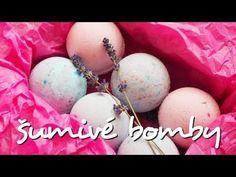 DIY šumivé bomby do koupele Christmas Art, Bath Bombs, Blueberry, Diy And Crafts, Homemade, Pink, Gifts, Beauty, Youtube