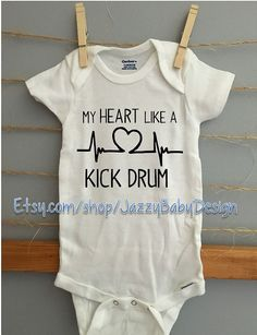 Funny bodysuit im so fly infant baby shirt toddler happy my heart like a kick drum avett brothers inspired onsie negle Image collections