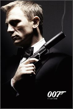 007...newest of the bond men smokin hot