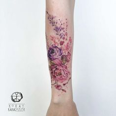 this is basically a sleeve which I'd never want but the tattoo is real pretty