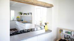 Küche Grundoptik