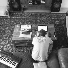 Home Studio Setup, Recording Studio Home, Home Studio Music, Record Art, Art Studios, Piano, Eve, Look Alike, Studio