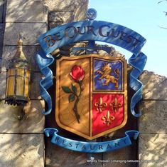 See INSIDE Be Our Guest Restaurant for the FIRST TIME!