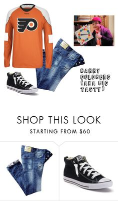 """The Goldbergs"" by sassyladies ❤ liked on Polyvore featuring Converse, men's fashion and menswear"