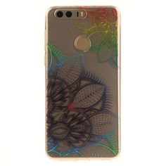 Coque Huawei Honor 8 Transparent - Colorful Flowers