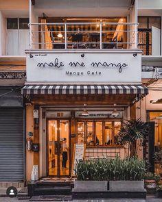 Bakery Interior, Coffee Shop Interior Design, My Coffee Shop, Coffee Cafe, Coffee Shops, Cafe Restaurant, Restaurant Design, Bakery Shop Design, Cafe Exterior