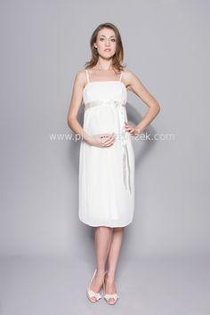 1e1cbe421c Sklep internetowy Piękny Brzuszek. White Dress. Sukienka ciążowa ...