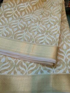 Muslin Silk Saree by Rakhee Gandhi available at www.celebratefashions.com