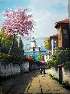 Kız kulesi. İStanbul..