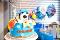 Snoopy 1st Birthday Party