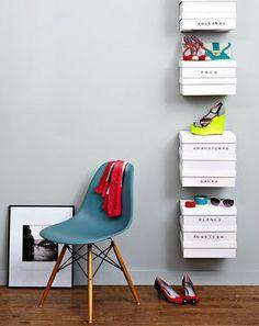 idée rangement shoes
