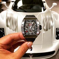 143 отметок «Нравится», 4 комментариев — WATCH INSANITY (@watchinsanity) в Instagram: «Richard Mille RM 11 TX & Maserati MC12 #watchinsanity #richardmille #maserati tks 2 @watchtuneup»