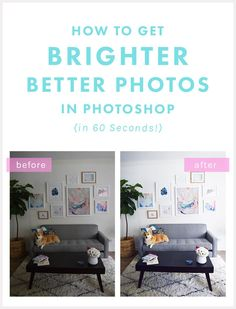 Photography Tips | Fabulous quick fix for photos on your blog: http://thenectarcollective.com/how-to-brighten-photos-in-photoshop/