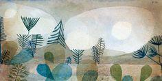 Bild:  Paul Klee - Oceanische Landschaft.
