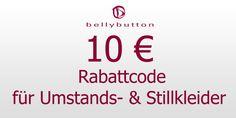 10 Euro Gutschein auf Umstandskleider und Stillkleider bei bellybutton.de