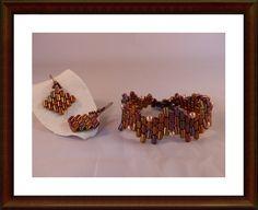 Rulla Beads Armband & Ohrhänger Set von Aminas Schatzkiste auf DaWanda.com