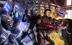 2D Artwork: Non TF-Mass Effect One with Two Sheps and Squad - TFW2005 ...