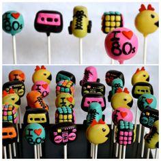 80's cake pops - by Keeya